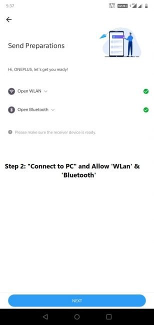 Connect to PC